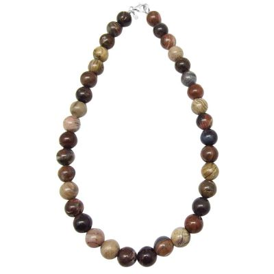 Petrified Wood Necklace 465 cts